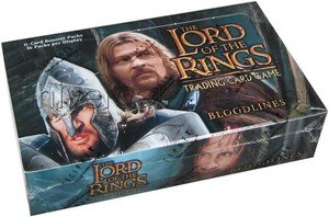 (Lord of the Rings Card Game Bloodlines Booster Box 36 Packs)