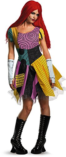 Disguise Women's Sassy Sally,Multi,S (4-6) (Nightmare Before Christmas Costumes For Adults)