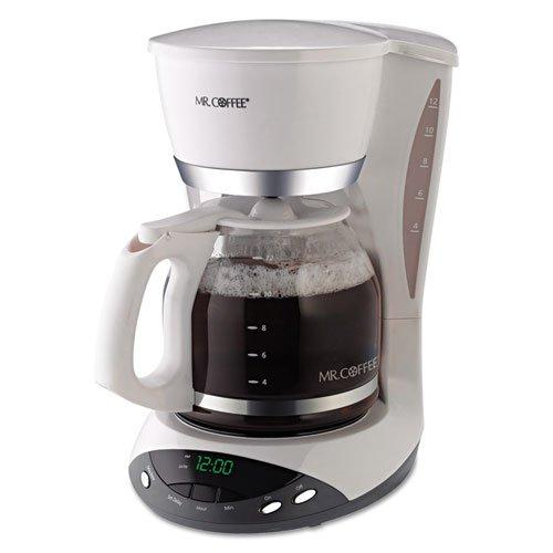 Sunbeam 12-Cup Programmable Coffeemaker - White
