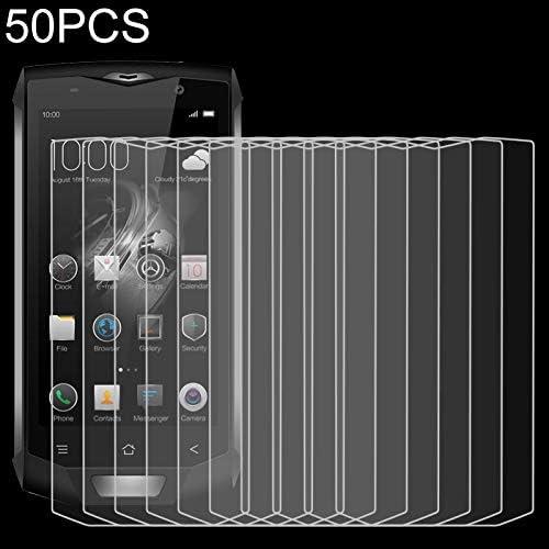 LGYD for 50 PCS for Blackview BV8000 Pro 2.5D Non-Full Screen Tempered Glass Film