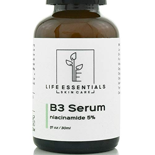 Niacinamide 5% Vitamin B3 Serum - Best Anti Aging Face Cream - Tightens Pores, Reduces Wrinkles, Boosts Collagen & Repairs Skin - 1 Oz