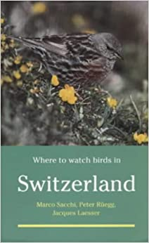 Book Where to Watch Birds in Switzerland