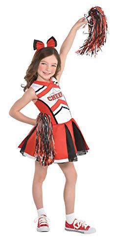 Suit Yourself Cheerleader Halloween Costume for Girls, Small,
