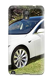 For Galaxy Case, High Quality Tesla Model S 22 For Galaxy Note 3 Cover Cases