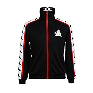 Girl Sports Jacket Rin Matsuoka Sportswear Outfit Hoodie Anime Black L