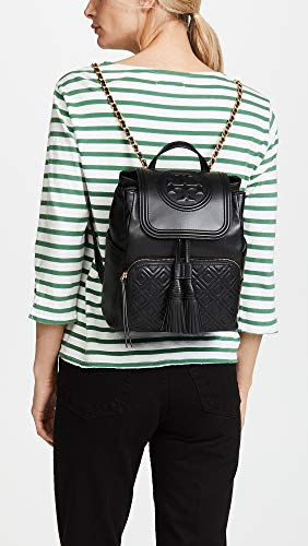 Tory One Size Fleming Black Black Backpack Burch Women's rfxgwqCr