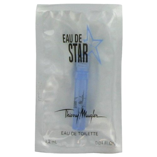 Eau De Star by Thierry Mugler Vial (sample) .04 oz -100% Authentic 0.04 Ounce Vial