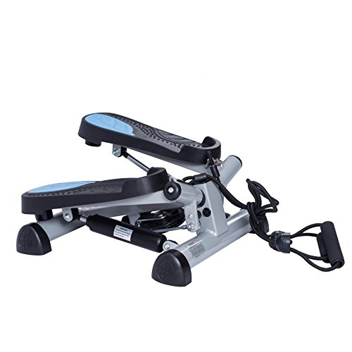 Twist Fitness Stepper Step Macine with Resistance Bands for Fitness & Exercise by EFITMENT S023