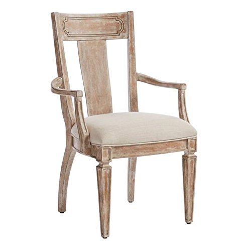 (Stanley Furniture Juniper Dell Contemporary Arm Chair in English Clay)