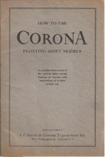 How to Use Corona Floating Shift Models for sale  Delivered anywhere in USA