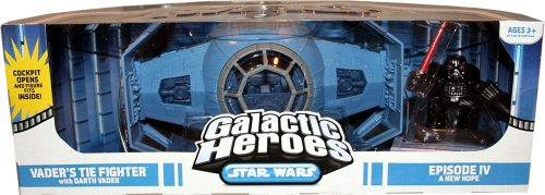 (Star Wars Galactic Heroes Cinema Scene - Vader Tie Fighter Cinema Scene)