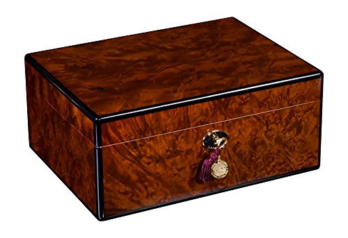 Daniel Marshall 100 Cigar Humidor in Precious Burl Private Stock Humidor by Daniel Marshall