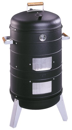 Americana Charcoal Combo Water Smoker that converts into a Lock 'n Go Grill