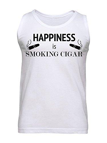 Happiness Is Smoking Cigars Men's Tank Top