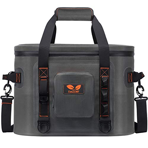 F40C4TMP 30 Cans Cooler Leak Proof Soft Sided Pack Cooler Bag Retention for Beach Party, Hiking, Camping and Any Outdoor Activities TMP4
