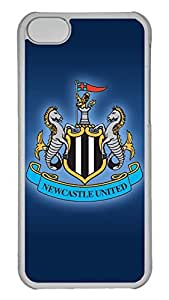 Creative GOOD 5C Case, iPhone 5C Case, Personalized Hard PC Clear Shoockproof Protective Case Cover for New Apple iPhone 5C - Newcastle United