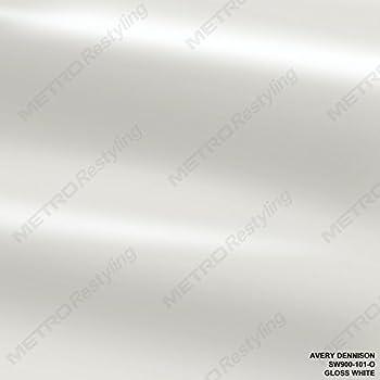 Avery SW900-101-O GLOSS WHITE 3in x 5in (SAMPLE SIZE) Supreme Vinyl Car Wrap Film