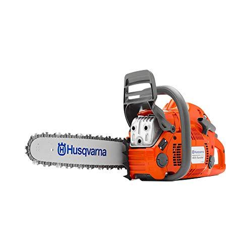 (Husqvarna 455 Chainsaw X-Torq 55cc 18-Inch Bar Fast Start Low Vibration)