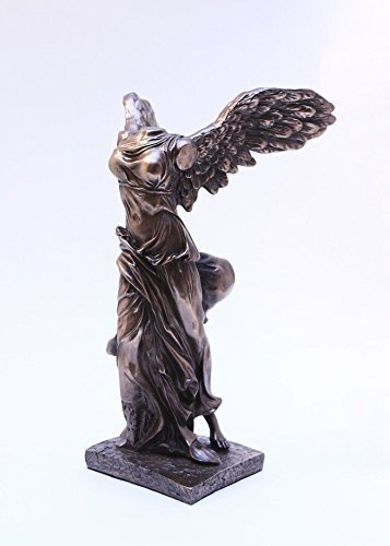10 Inch Winged Victory Nike of Samothrace Resin Statue Figurine (Samothrace Statue)