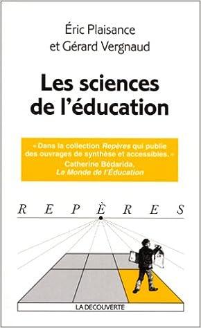 Lire un Les Sciences de l'éducation pdf, epub ebook