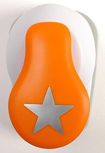 /Ø 1,9 cm 1004643 Margherita Bianco//Arancione S Fiskars Perforatore a leva Per mancini e destrorsi Acciaio di qualit/à//Plastica Lever Punch