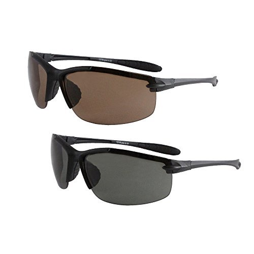 Solaray Sport Sunglasses 2-Pack Bundle for Hiking, Outdoors, Fishing, - Solaray Glasses
