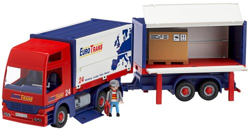 Playmobil 4323 cami n con trailer - Playmobil camion ...