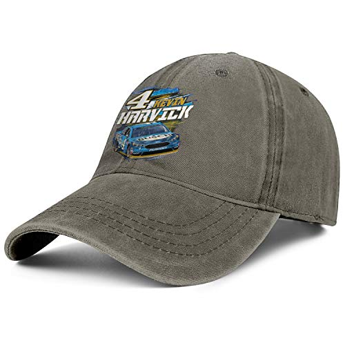 NIANLJHDe Unisex ManOriginal Dad Hat Packable Kevin-Harvick-#4-Busch-Beer-2018-Checkered-Flag-Nascar- Biking Baseball Hat -