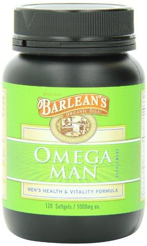 Barleans Omega Man, 120 Count /1000 Millgrams Each
