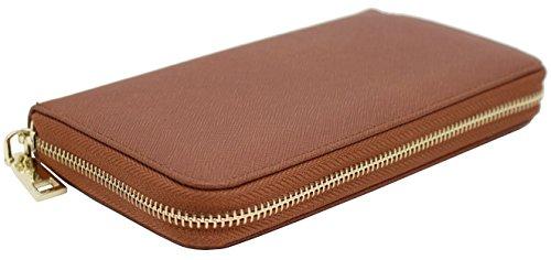 Amy Joey Genuine saffiano leather