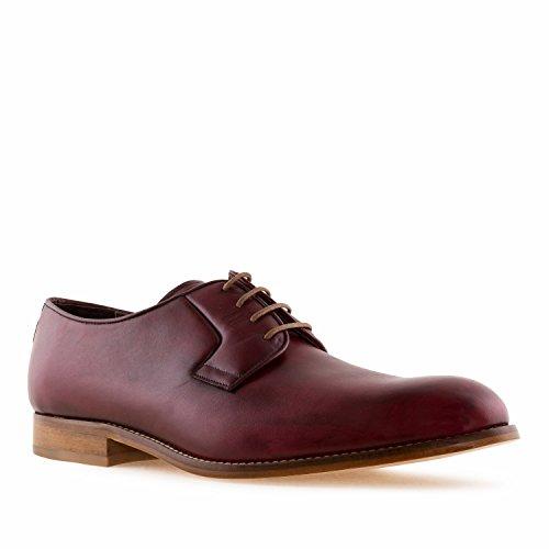 Machado Andres 37 Tallas Piel Tallas 50 Pequeñas Spain IN de 39 Burdeos Zapato Made Hombre 47 la 5811 Grandes de rr4KydSfqW