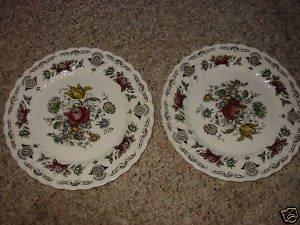Myott Bouquet Dinner Plates