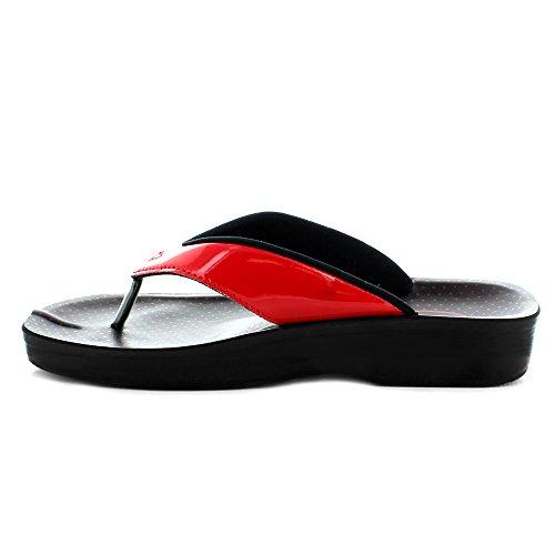 Snowdonia (a0867) - Original Aerosoft Mujer Sandals Red (# Ff0000)