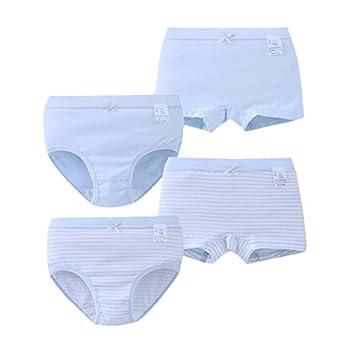 f41e0042312 Amazon.com: Setaria Virids Toddler Girls Underwear Organic Cotton 4 Pack  Boxer Briefs Baby Kids Undies: Clothing