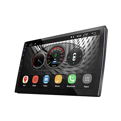 """UGAR 9"""" EX8-S Universal Extended Version Car Stereo 2GB 16GB Android 8.1 Head Unit Double Din Touch Screen Radio Auto Car Audio Indash GPS Navigation with Bluetooth WiFi Mirroring …"""