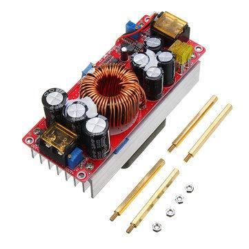 1500W 30A High Power DC-DC Constant Voltage Constant Current Step-up Power Module Converter 12V 24V 48V To 48V 60V 72V - Board & Shield Boost & Buck Module