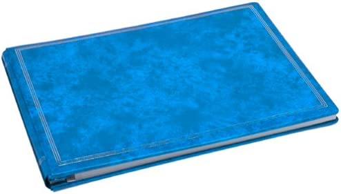 Holds All Popular Size Photos Deluxe Jumbo Magnetic Photo Album Bay Blue