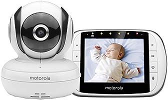 Motorola MBP 36SC - Vigilabebés Vídeo con Pantalla LCD a Color d