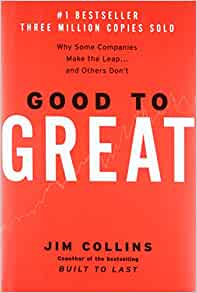 Good to Great by Jim Collins book cover