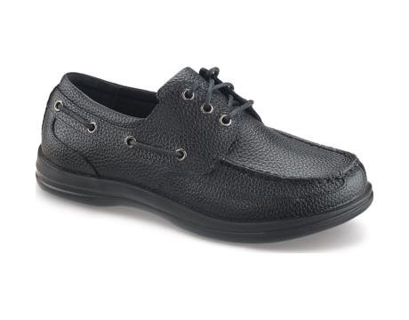 Boat Classic Mens (Apex Shoes A1000M Classic Boat, Black, 13 XW)