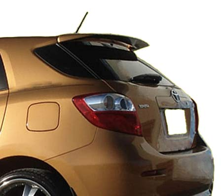 - Accent Spoilers -Spoiler for a Toyota Matrix Factory Style Spoiler-Classic Silver Metallic Paint Code: 1F7