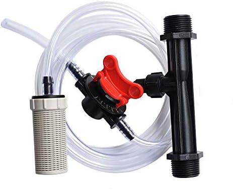 ベンチュリ肥料インジェクター 3/4 1/2 灌漑ベンチュリ自動肥料シ ンジ 水道管フィルター内蔵重力ボール