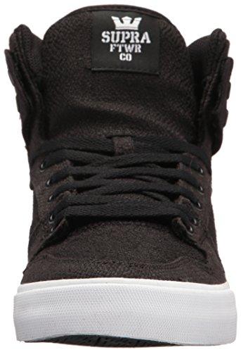 Vaider Supra Skate White Black Black Shoe 0ww6d8Uq
