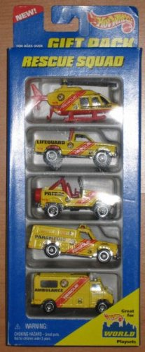 Hot Wheels Rescue Squad Gift Pack #17489