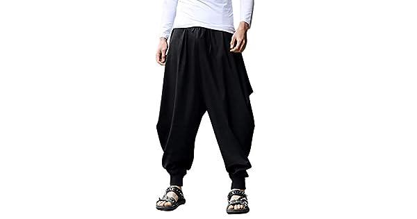 Amazon.com: Jogger Fitfulvan - Pantalón para hombre, de lino ...