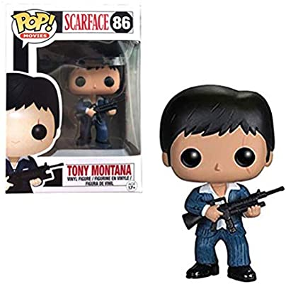 Xech En Caja Pop pel/ícula Scarface Tony Montana Vinil Figura PVC 4 Pulgadas