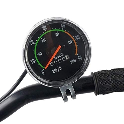 PEACE BIRD Classical Bike Mechanical Stop Watch Cycling Odometer Mechanical Bike Stop Watch Speed RPM Gauges by PEACE BIRD