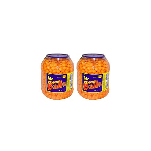 Product of Utz Cheese Ball Barrels 35 oz. (2 pk.) - Chips [Bulk Savings]