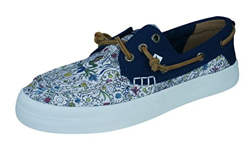 Mujer de Barco Crest Multicolored del Sperry Natural Resort Zapatos Mermaid la npUwzS7q