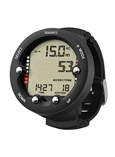 Scuba diving equipment. SUUNTO Zoop Novo Wrist Scuba Diving Computer, Black, Without USB